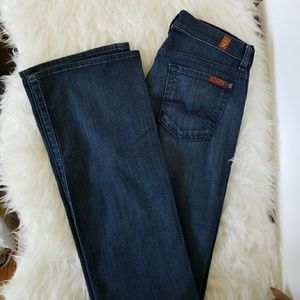 7 for All Mankind Bootcut Jeans NWT 26